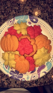 Spritzer Cookies.